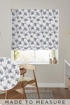 Darnley Denim Blue Made To Measure Roman Blind