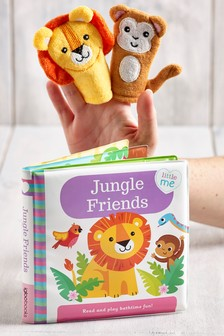 Baby Jungle Bath Time Book