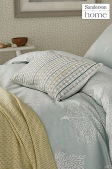 Sanderson Home Coraline Geo Trees Cotton Pillowcase