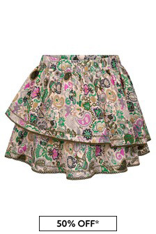 Zadig & Voltaire Multicoloured Cotton Skirt