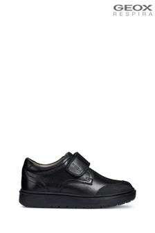 Geox Boy's Riddock Black Shoes
