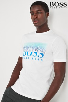 BOSS White Trek T-Shirt