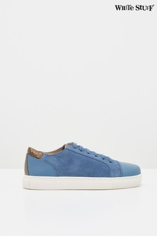 White Stuff Jada Suede Lace-Up Trainers