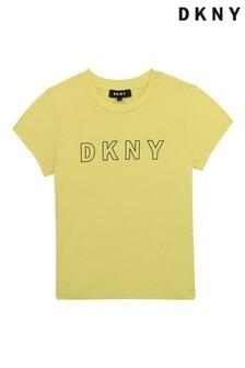 DKNY Yellow Logo T-Shirt