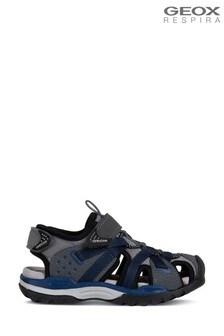 Geox Boy's Borealis Grey Sandals