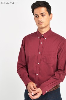 GANT Winter Twill Solid Regular Shirt