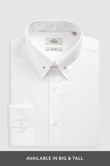 Poplin Collar Pin Shirt