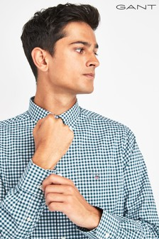 GANT Broadcloth Gingham Regular Shirt