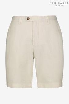 Ted Baker Maske Cotton Linen Shorts