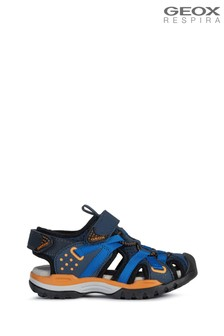 Geox Boy's Borealis Blue Sandals