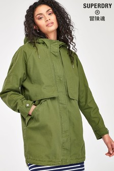 Superdry Olive Advent Parka