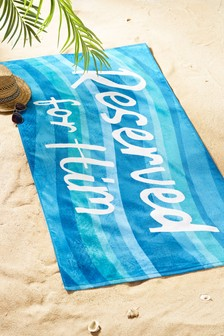 Family Reserved Beach Towel