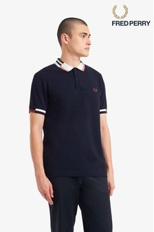 Fred Perry Abstract Tipped Polo