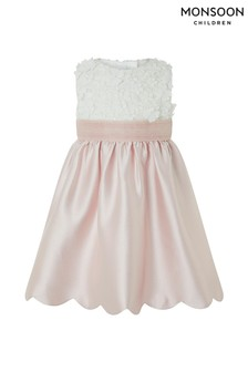 Monsoon Pink Baby Belle Dress