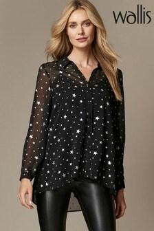 Wallis Glitter Star Shirt