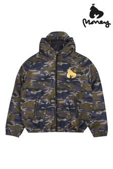 Money Camo Padded Windcheater Jacket