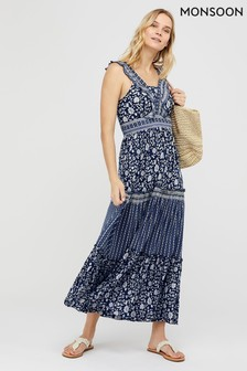 Monsoon Farrah Jersey Ecovero Maxi Dress