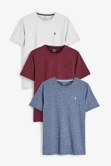 Marl Stag T-Shirts Three Pack