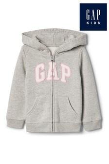 Gap Grey Logo Hoody