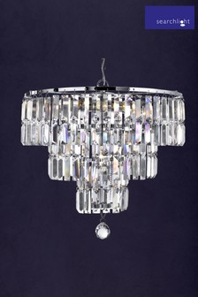 Giselle 5 Light Chandelier by Searchlight