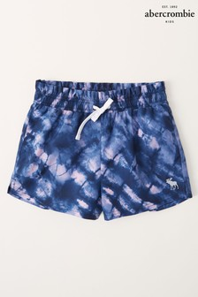 Abercrombie & Fitch Tie Dye Paperbag Waist Active Shorts
