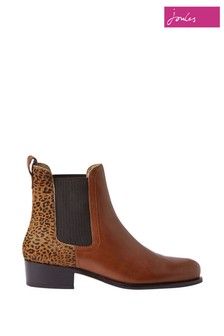 Joules Brown Stamford  Premium Chelsea Boots