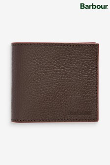 Barbour® Leather Billfold Wallet