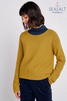 סוודר של Seasalt דגם Fruity בצהוב
