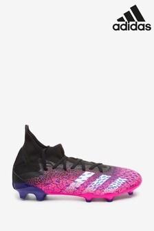 adidas Black Predator P3 Firm Ground Football Boots