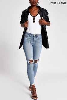 River Island Mid Auth Molly Minnie Jeans
