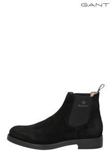 GANT Black Oscar Chelsea Boots