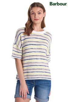 Barbour® Coastal Multi Stripe Harbourside Cropped Jumper