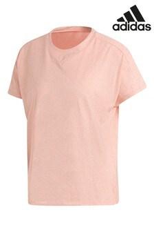 Розовая футболка adidas ID Winners