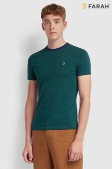 Farah Green Tranmere Short Sleeve T-Shirt