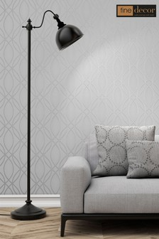 UK Pulse Ogee Wave Wallpaper by Fine Décor