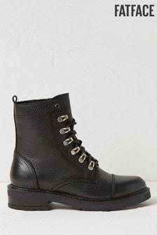 FatFace Black Hadlow Hiker Boots