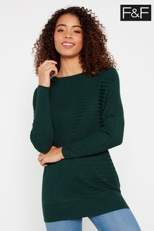 F&F Green New Batwing Jumper