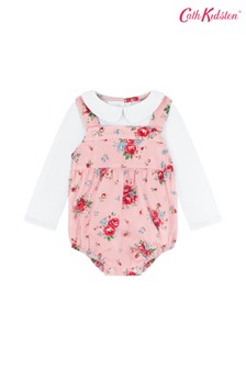Cath Kidston® Baby Notting Hill Rose Romper And T-Shirt Set