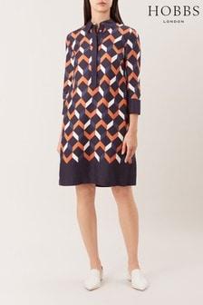 Hobbs Black Aubery Dress