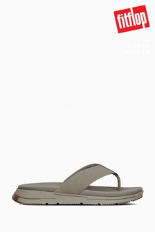 FitFlop™ Grey Sporty Men's Toe Thong Sandals