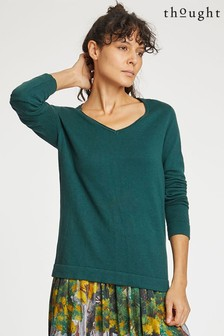 Thought Green Hildur Jumper