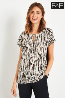 F&F Multi Printed Blouse