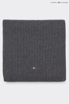 Tommy Hilfiger Grey Pima Cotton Cashmere Scarf