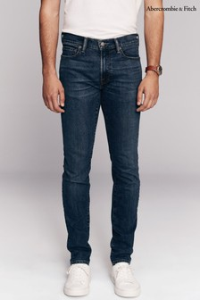 Abercrombie & Fitch Blue Super Skinny Jeans