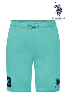 U.S. Polo Assn. Green Player 3 Sweat Shorts