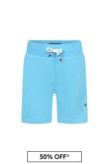 Tommy Hilfiger Blue Cotton Shorts