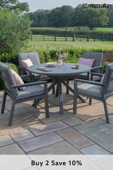 New York 4 Seat Round Dining Set By Maze Rattan