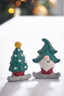 Elf Salt & Pepper Pots