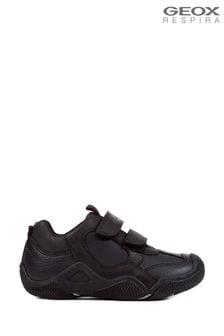 Geox Boy's Wader Black Shoes