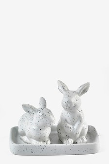 Rabbit Salt And Pepper Pots